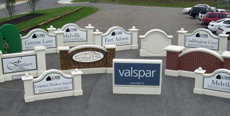 large sign project financing and leasing for our sandblasted signs