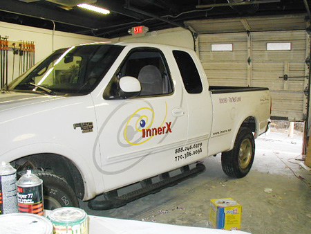 Inner X Truck Vehicle Graphics