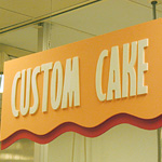 Custom Shaped Sintra Shapes with PVC Routed Letters