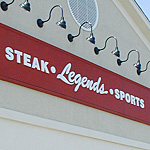 Legends PVC Routed Letters