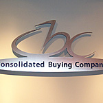 Consolidaed Buying Group Lobby Display