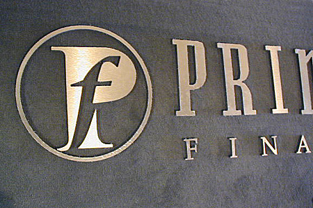 FP Brushed Gold PVC Lobby Display