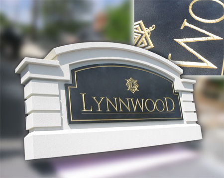 Lynnwood Monument and CNC Routed Sign