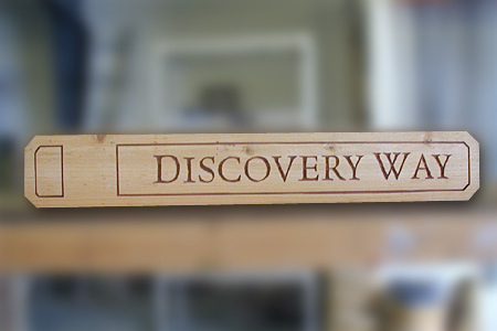 Discovery Way natural Wood Street blade