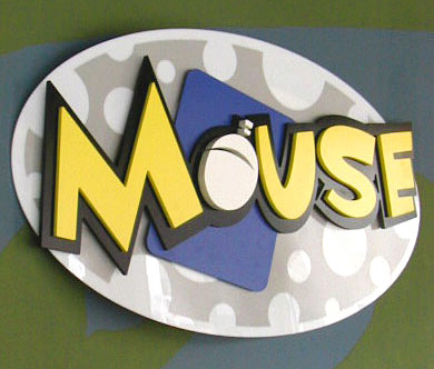 Mouse Design Studio PVC Multi-Layered Lobby Display