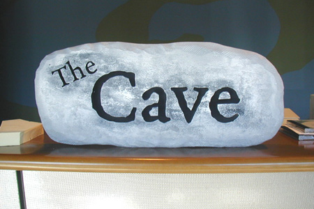 The Cave HDU Home Entertainment Room Sign