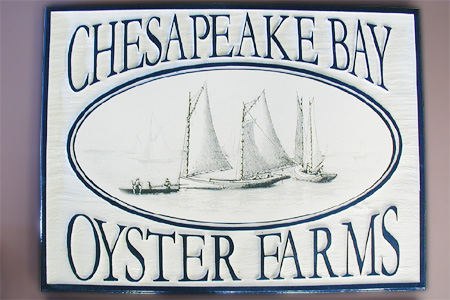 Chesapeake Bay Oyster Farms with Digital Output Applied