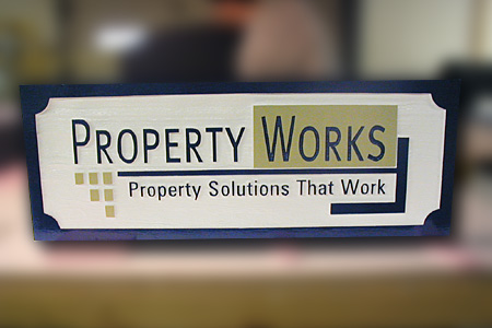 Property Works Real Estate Agency HDU Sign