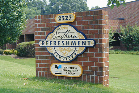Southern Refreshment Sign Monument and HDU Signs